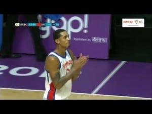 Jordan Clarkson brille pour son premier match avec les Philippines