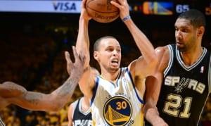 Stephen Curry : «La série contre les Spurs en 2013, c'était deux semaines d'école»