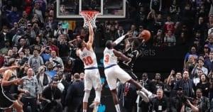 Nouveau gros match, game winner sur la truffe d'un pote de fac… Caris LeVert avait des comptes à régler avec les Knicks