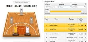 Jeu de l'entraîneur NBA : les bons plans du soir pour décrocher le jackpot