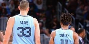 Marc Gasol et Mike Conley seraient disponibles pour un transfert !