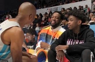 Dwyane Wade sur son fils Zaire « Je vais faire tout ce que je peux pour que  son rêve de NBA devienne réalité »