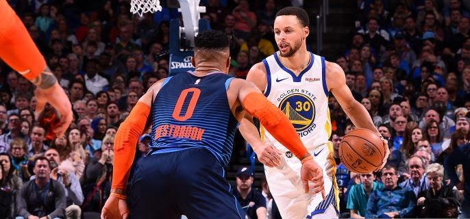 Stephen Curry et les Warriors détruisent le Thunder à OKC ...