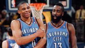 Le Top 10 de Russell Westbrook et James Harden au Thunder