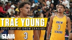 Trae Young et Montrezl Harrell se baladent en Drew League
