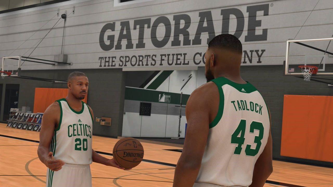 Michael B. Jordan vedette du mode Ma Carrière de NBA 2K17